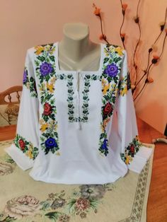 Floral Tops, Costumes, Long Sleeve, Sleeves, Women, Style, Fashion, Blouse Dress, Toddler Girl Dresses