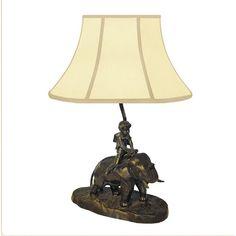 "Found it at Wayfair - Elephant Francaise 20"" H Table Lamp"