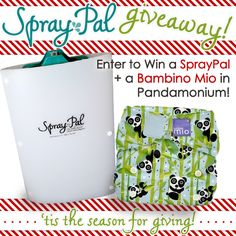 Giveaway of Spray Pal and diaper!