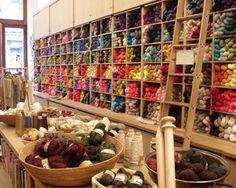 Tiendas de lanas: Nueva York