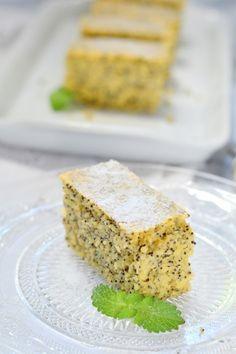 Mákos-mandulás sütemény recept - Kifőztük, online gasztromagazin Cake & Co, Pastry Cake, Pastry Recipes, Banana Bread, Paleo, Food And Drink, Desserts, Cukor, Poppy