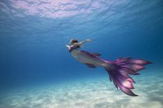 Lyrique the MermaidPhoto: See Through Sea Tail: Finfolk Productions