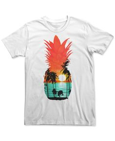 An island vibe punctuates the pineapple-shaped graphic on this Guava Dreams T-shirt from Fifth Sun. | Cotton | Machine washable | Imported | Crew neck | Short sleeves | Graphic at front | Web ID:28194