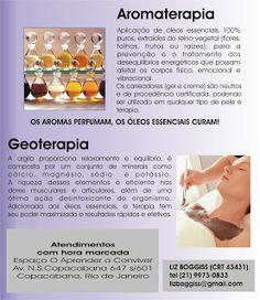 Aromaterapia Flor de Liz: ATENDIMENTOS AROMATERAPIA E GEOTERAPIA