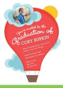 Mixbook+Up+in+the+Sky+Graduation+Invitations