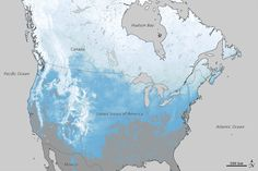One year after being pelted with widespread and abundant snowfall, much of North America stayed brown, gray, and green in the winter of 2011–12. Multiple weather patterns conspired to keep snow from forming and falling often, and warm air temperatures kept it from staying on the ground for long. This mostly snow-deprived winter should mean fewer spring floods, but also less snow melt filling reservoirs and lake.