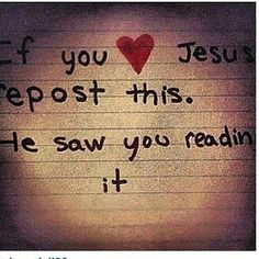 I love jesus >>> be honest, don't just REPINS this because it came from…