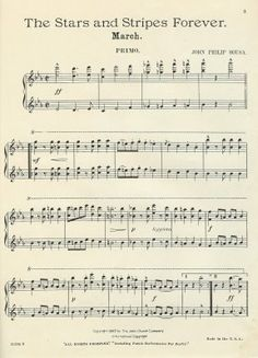 Everytime I hear this wonderful Sousa March played it stirs up my blood to full fledged patriotism ~