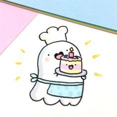 ideas for birthday cake Illustration baking – # baking # for cake # ideas # … - birthday Cake White Ideen Kawaii Drawings, Doodle Drawings, Easy Drawings, Doodle Art, Kawaii Doodles, Cute Doodles, Kawaii Art, Happy Birthday Drawings, Birthday Doodle