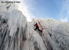 Ice-Climbing, Iran's exciting adventure