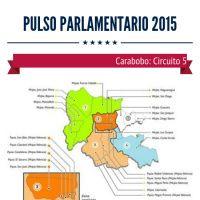 Candidatos MUD PSUV Circuito 5 Carabobo