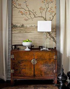 Michelle - Blog #Asian #inspirations Fonte : http://brabournefarm.blogspot.com/2011/08/love-chinese-cupboards.html