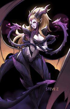 Fanart of Dragon Sorceress Zyra