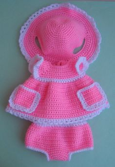 PATTERN: Clothes for amigurumi (bunny, kitty) crochet pattern PATTERN: Clothes for amigurumi (bunny, kitty) crochet pattern Source by lorenaenid Slouch Hat Crochet Pattern, Knitted Doll Patterns, Crochet Baby Dress Pattern, Crochet Stitches Patterns, Knitted Dolls, Crochet Dolls, Crochet Sloth, Crochet Amigurumi, Cute Crochet