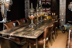 Timothy Oulton Showroom at Homes of Elegance #Timothy Oulton