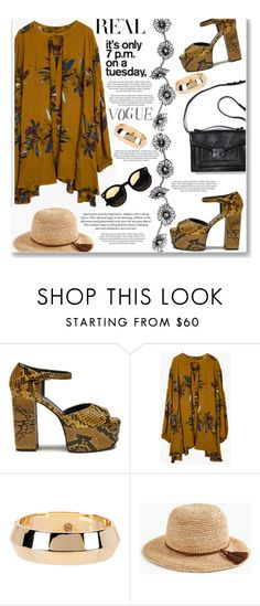 """""""#platforms"""" by zoey-heart ❤ liked on Polyvore featuring Mulberry, H&M, House of Harlow 1960, J.Crew and platforms"""