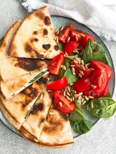 Veggie Recipes, Vegetarian Recipes, Healthy Recipes, I Love Food, Good Food, Quesadillas, Dinner Is Served, Chutney, Food For Thought