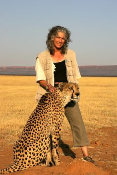 Laurie Marker, Founder and Executive Director of Cheetah Conservation Fund.