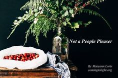 """""""Not a People Pleaser"""" by Maryann Lorts 