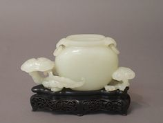 """Water Jar, Qing dynasty (1644–1911). China. The Metropolitan Museum of  Art,  New York. Gift of Heber R. Bishop, 1902 (02.18.476) 