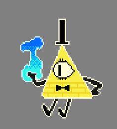 Resultado de imagen de dibujos de bill cipher en la serie