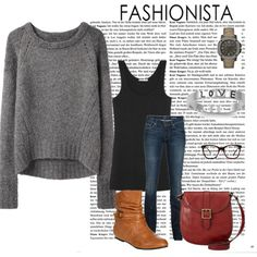 """Love this. Totally want this sweater :: """"cozy comfy fashion"""" by jolynneshane on Polyvore"""