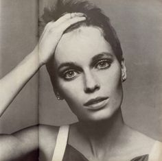 Avedon was a master of lighting the face in studio.  No visible under eye issues yet still depth and drama. She has a good amount of makeup but still looks natural yet aspirational/heightened. Mia Farrow by Richard Avedon