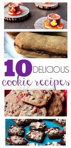 10 Delicious Cookie Recipes!