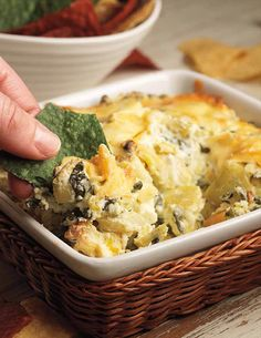 Artichoke spinach dip - 25 must-serve holiday party appetizers