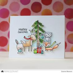 mama elephant | design blog: STAMP HIGHLIGHT : WHIMSICAL WINTER