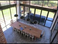 This video will show you the process from design to completion of this beautiful barn style home set in the South African country side Barn, African, Country, Architecture, Outdoor Decor, Modern, Beautiful, Design, Home Decor