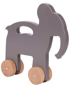 Wood Animal Push Toys
