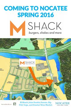 M Shack is coming to the Nocatee community! Details on this BIG announcement and Nocatee growth on the Blog. #dining #pontevedra