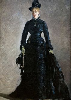 The Parisienne by Manet