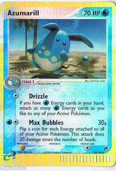 Pokemon Card 2016 Stage 1 AZUMARILL
