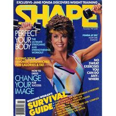 LOL here's one from our time capsule. Jane Fonda on our cover at age 50 in November 1987!