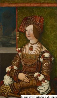 Bianca Maria Sforza (1472-1510), Holy Roman Empress as the second wife of Emperor Maximilian I. As the daughter of an Italian condottiere family that had come to rule Milan by military force, she was a mesalliance for Maximilian. The emperor however needed her dowry and good connections to the Italian city states. Bianca didn't bear him any children, and as a result he mostly neglected her, leaving her behind as a kind of pawn in the cities he stayed in whenever he couldn't pay the bills.