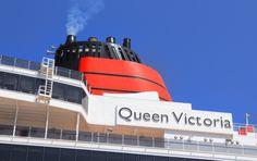 Cunard Queen Victoria docked in Crete Greece. #Greece