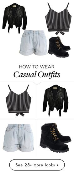 """""""casual e rock"""" by fabiana-c-pergher on Polyvore featuring Levi's, Acne Studios and Off-White"""