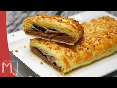 TRENZA DE CHOCOLATE (CHOCOLATE BRAID) | Las Recetas de MJ - YouTube