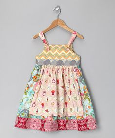 Take a look at this Pink Sophia Knot Dress - Infant, Toddler & Girls by Georgia Grace on #zulily today!