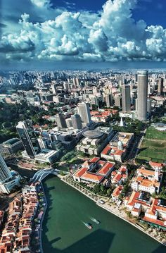 "When we lived in Singapore their national motto was: ""My Singapore, My Home"" - exactly how I feel"
