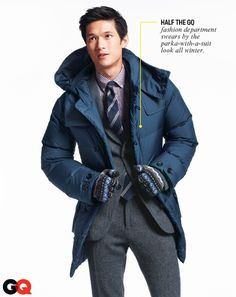 somehow I dig the parka over the suit. maybe im crazy rt now
