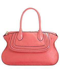 Dkny Handbag Crosby Satchel With Patent Trim All Handbags Accessories