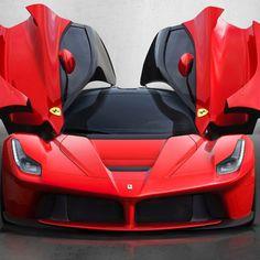 Ferrari La Ferrari cherry red!