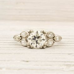 Don't get me wrong, I love my engagement ring, but if I could I'd go back in time I'd tell my soon-to-be husband to choose this ring.