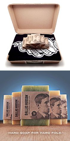 Surprise someone with 6 kinds of honest to goodness Dallas Hudson handmade soap, plus a classic black t-shirt in an attractive eco-friendly box. It's a unique gift that any man or woman will enjoy. Make it your go to present for birthdays and housewarmings. It's also great for Valentine's Day, Mother's Day, Father's Day, Back To Campus, Secret Santa parties, or any occasion that calls for something special. Shop our entire line of scented and odorless Castile soaps made with organic…