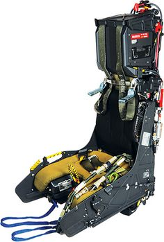 The ejection seat, more commonly known as and NACES (Navy Aircrew Common Ejection Seat), is currently in service in the and Goshawk. Cowboy Holsters, Airplane Seats, F14 Tomcat, Ejection Seat, Aircraft Interiors, Racing Seats, Man Room, Mechanical Engineering, Submarines