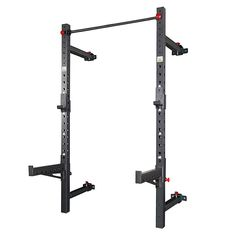 Garage Gym Wall-Mount Foldable Half Rack