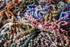 beads in the market in Kumasi